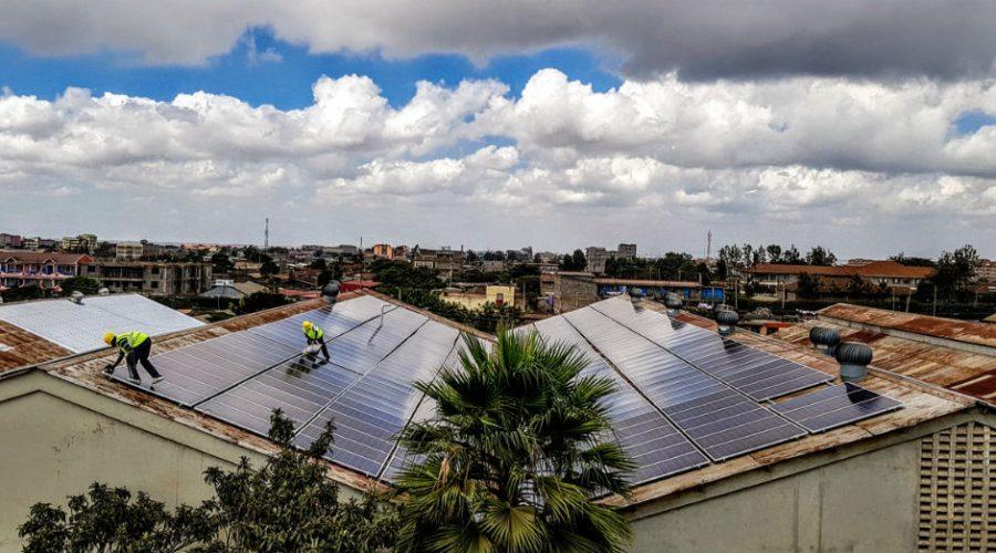 Kenya solar rooftop